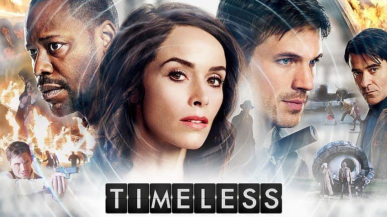 Timeless TV-Serie Poster