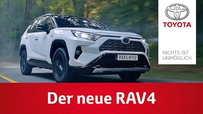 Screenshot aus Toyota RAV 4 Werbung
