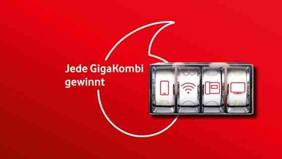 Screenshot aus Vodafone GigaKombi Werbung
