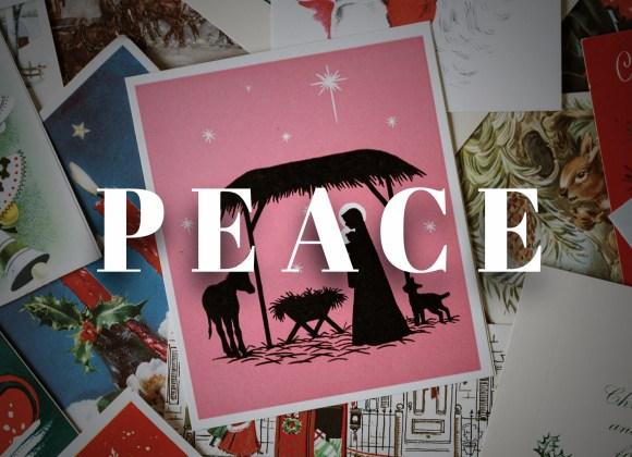 Peace – Week 3