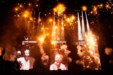 Swedish House Mafia, Tinderbox, TB19, TB19g, Rød Scene