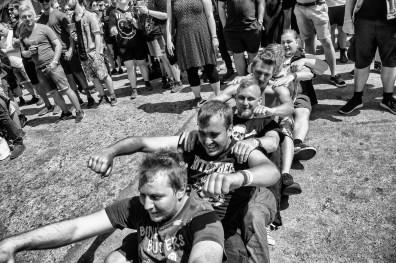 Det danske kvinde-doom-band, Konvent, åbner Pandæmonium torsdag middag på Copenhell Foto: Helle Arensbak