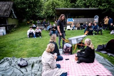Grimmeste aftner med Allan Olsen på Grimhøjgaard iAarhus. Foto: Helle Arensbak