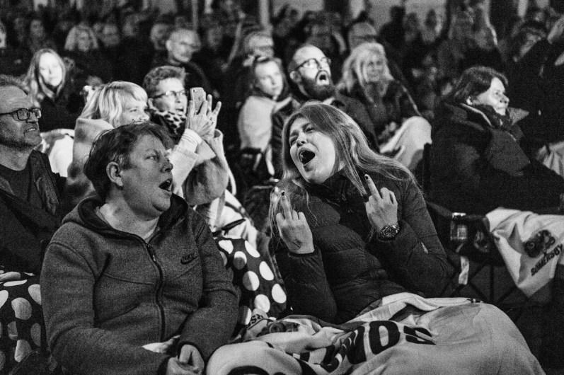 Magtens Korridorer spiller i Den Rå Hal på Godsbanen torsdag d. 19 november 2020. Arrangeret af Grimfest og Train I Aarhus. Foto Helle Arensbak