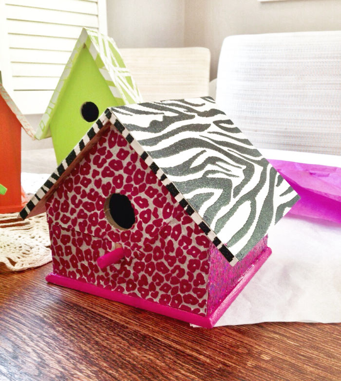 paint your own birdhouse tutorial | Poplolly co.
