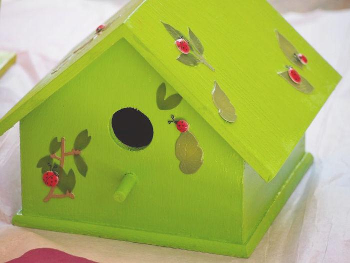 how to paint your own birdhouse, teacher gift ideas, diy teacher gifts, handmade | Poplolly co.
