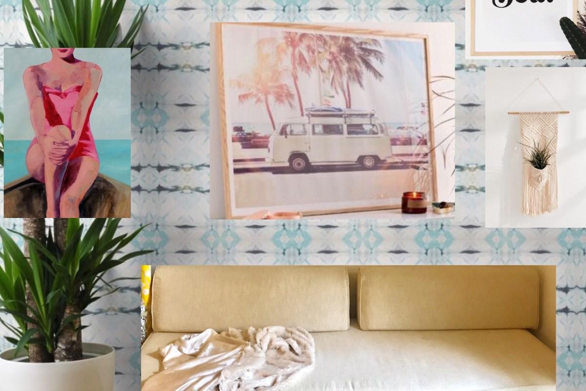 #beachybohooffice #beachybohodecor #bohomoodboard #bohodecorideas #officeideas #office decor | Poplolly co.