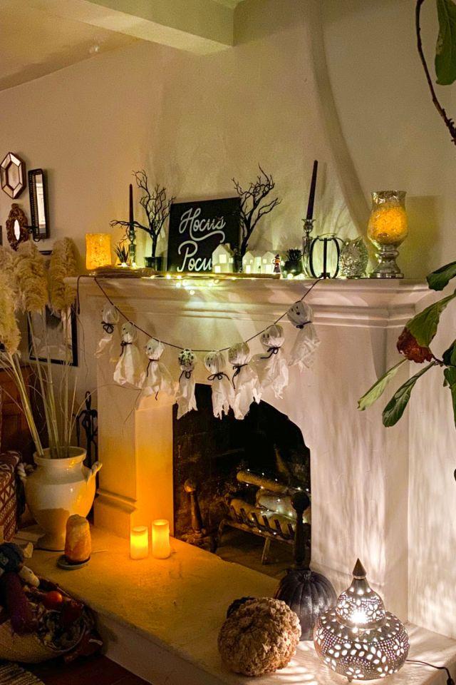 Spooky Halloween Mantle Decor | Poplolly co