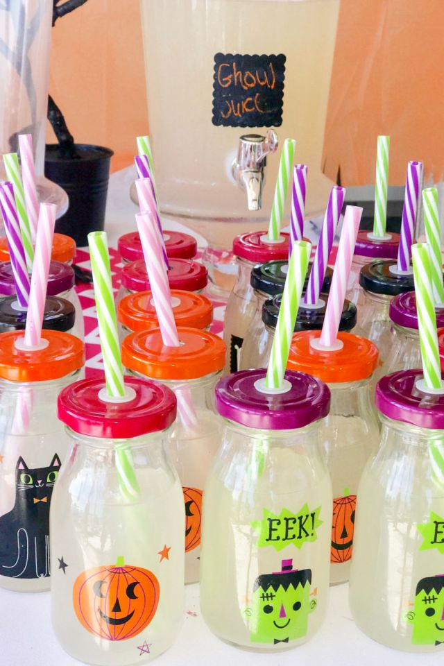 girls howlin halloween party ideas ghoul juice | Poplolly co