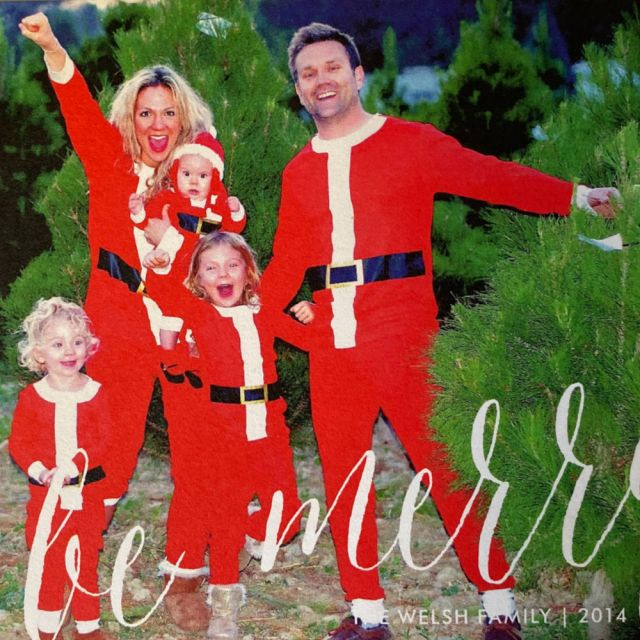 Funny and Unique Christmas photo card ideas for the whole family | Poplolly co