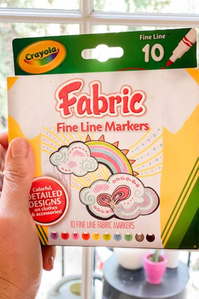 Fabric markers | Poplolly co
