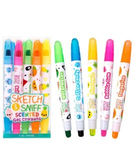scented gel crayons | amazon homeschool supplies | Poplolly co