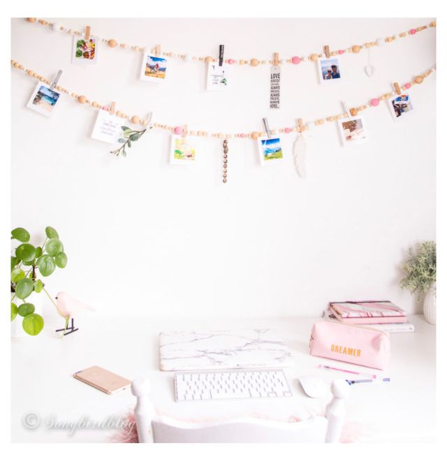 vision board garland | Poplolly co