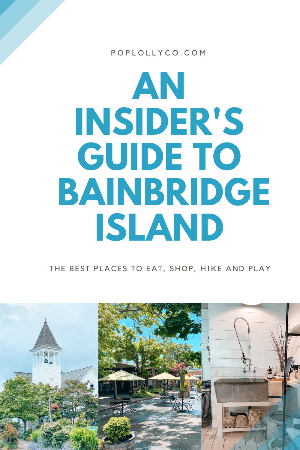 things to do on Bainbridge Island | travel ideas | pacific northwest | washington | Poplolly co