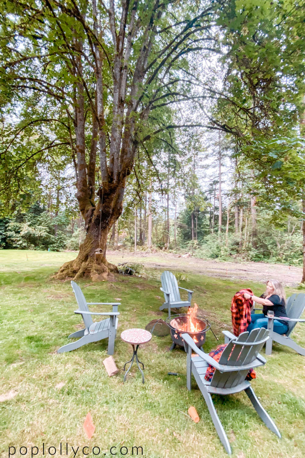 things to do in Bainbridge Island | bonfire | Poplolly co