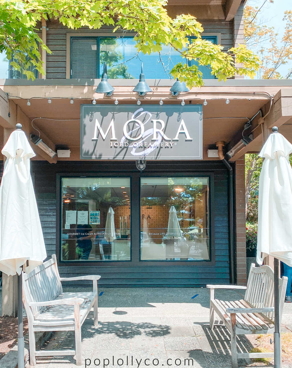 Mora Ice cream in Bainbridge Island | things to do on Bainbridge Island | best place to eat in Bainbridge Island | Poplolly co
