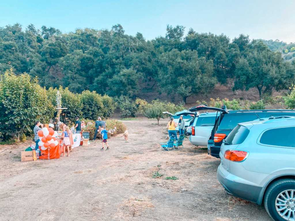 rustic drive in birthday party ideas | Poplolly co