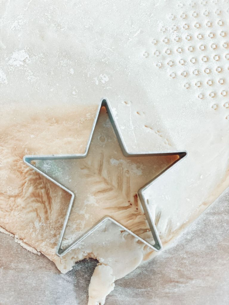 salt dough ornaments - make designs with things you have at home   diy christmas gift ideas   Poplolly co