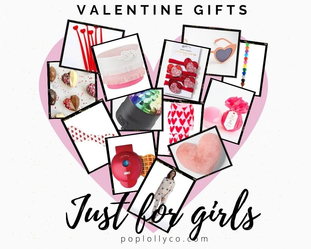 Valentine gift baskets ideas for kids | Poplolly co
