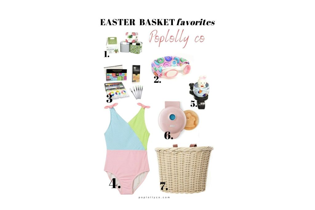kids easter basket ideas | gift ideas for spring and easter | Poplolly co