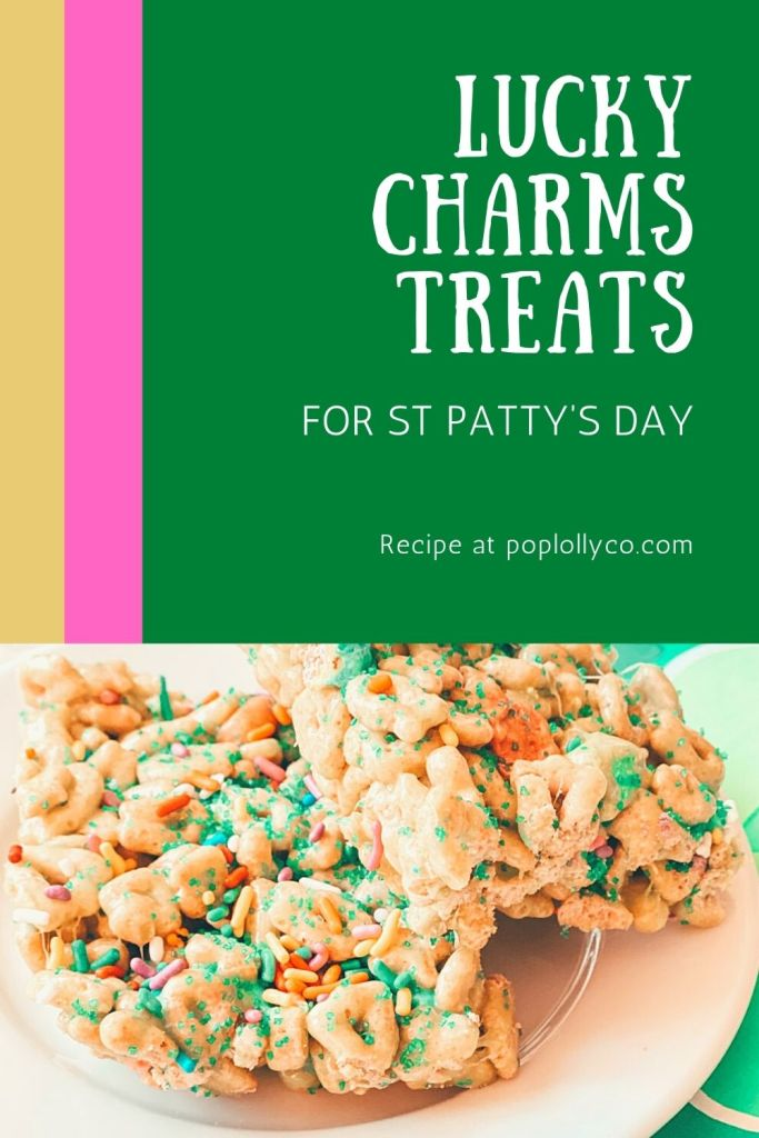lucky charms treats for saint pattys day | Poplolly co