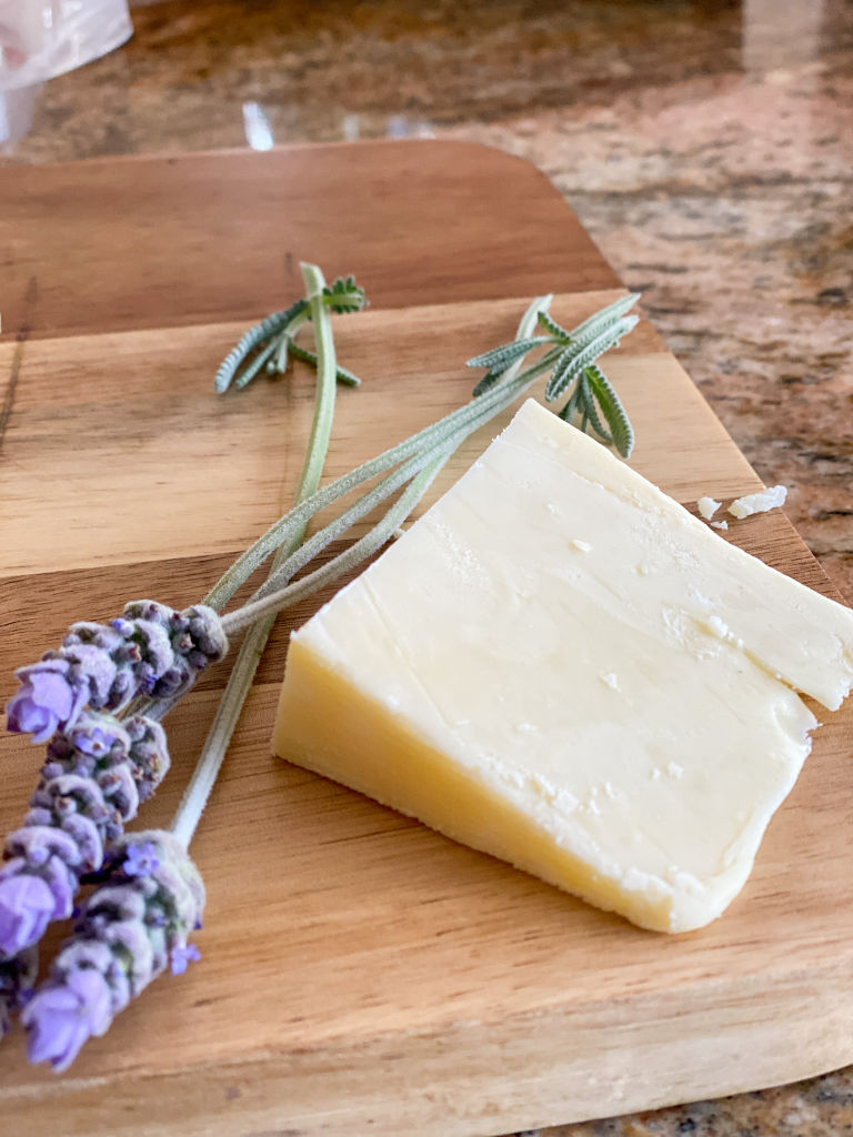 cheese board with lavender | Poplolly co