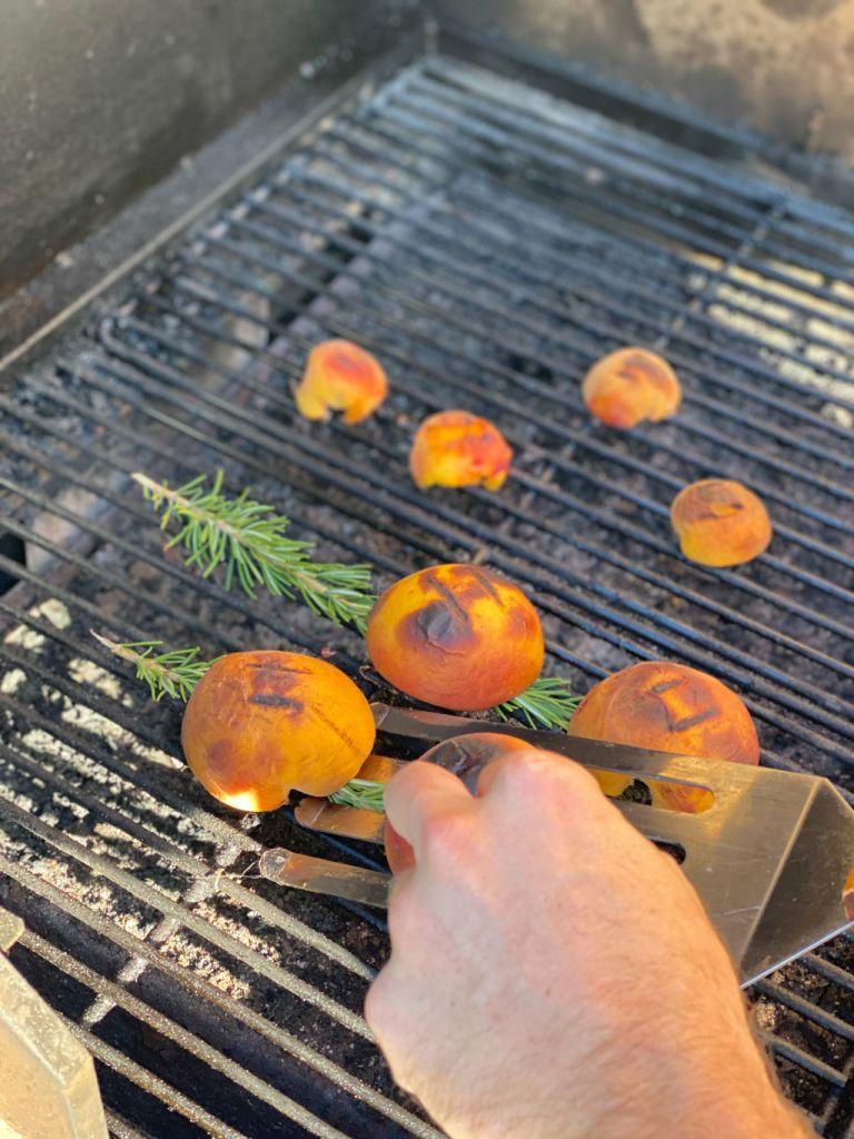 recipe for bbq peach dessert | Poplolly co