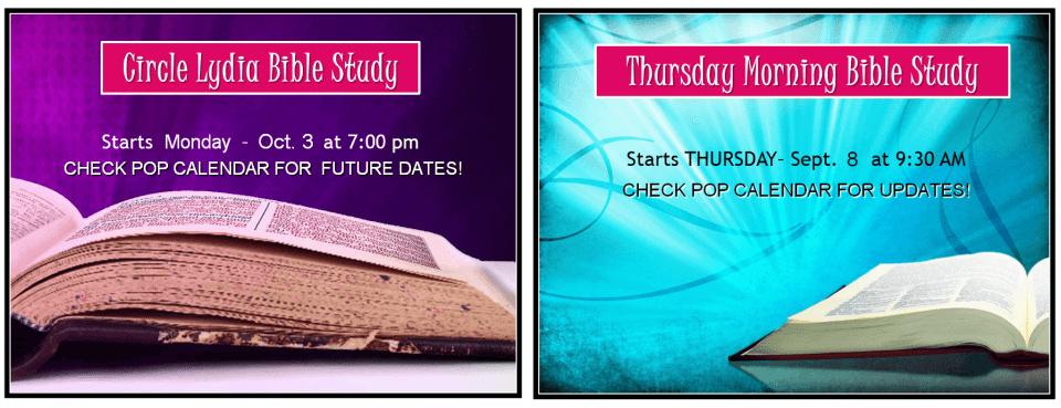 BIBLE STUDY 2016