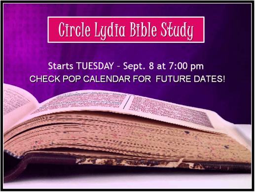 BIBLE STUDY 2015