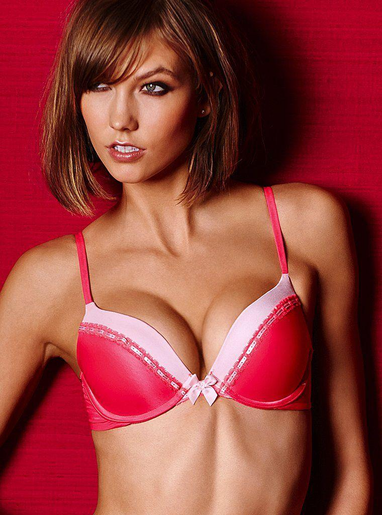 Pop Minute Karlie Kloss Arrows Valentines Day Lingerie