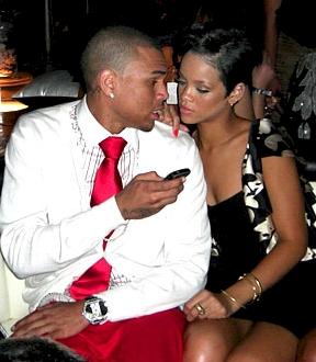CBrown Rihanna