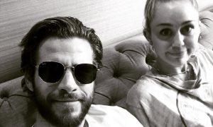 Liam Hemsworth e Miley Cyrus. Foto: Reprodução/Instagram