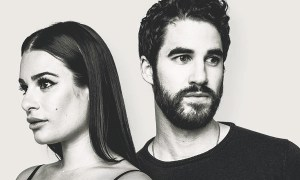 Lea Michele e Darren Criss. Foto: Reprodução/Instagram