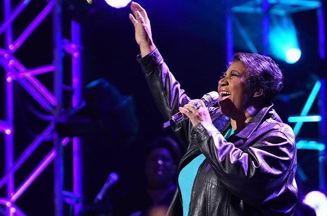 Aretha Franklin. Foto: Reprodução/Facebook
