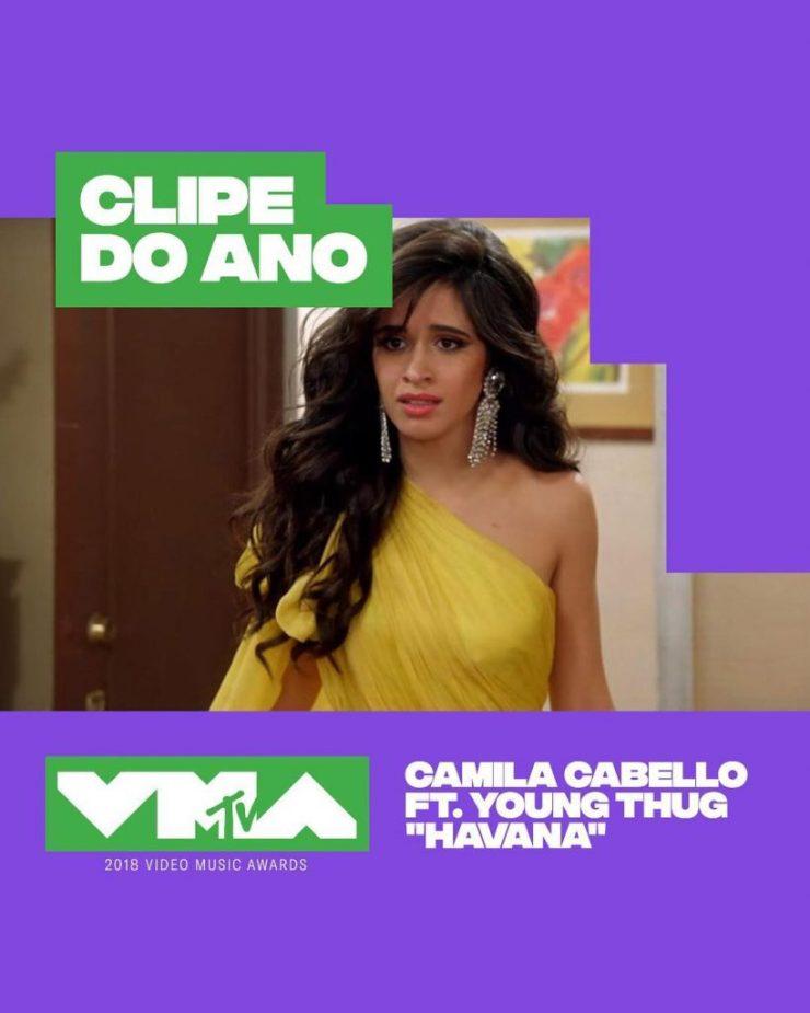 Camila Cabello. Foto: Reprodução/Instagram (@mtvbrasil)