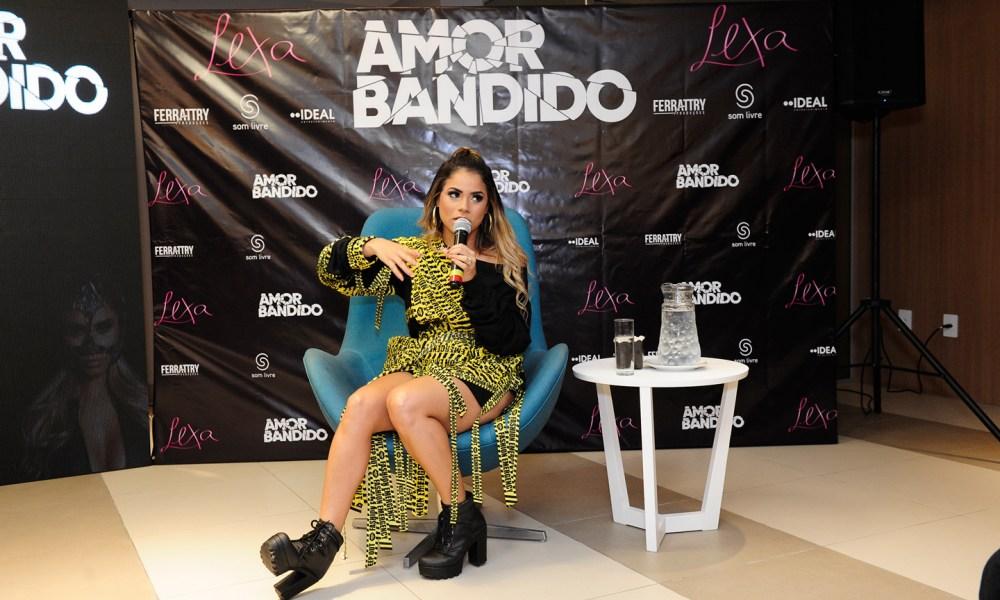 "Lexa lança clipe de ""Amor Bandido"". Foto: Jansen / Portal Universo Artístico"
