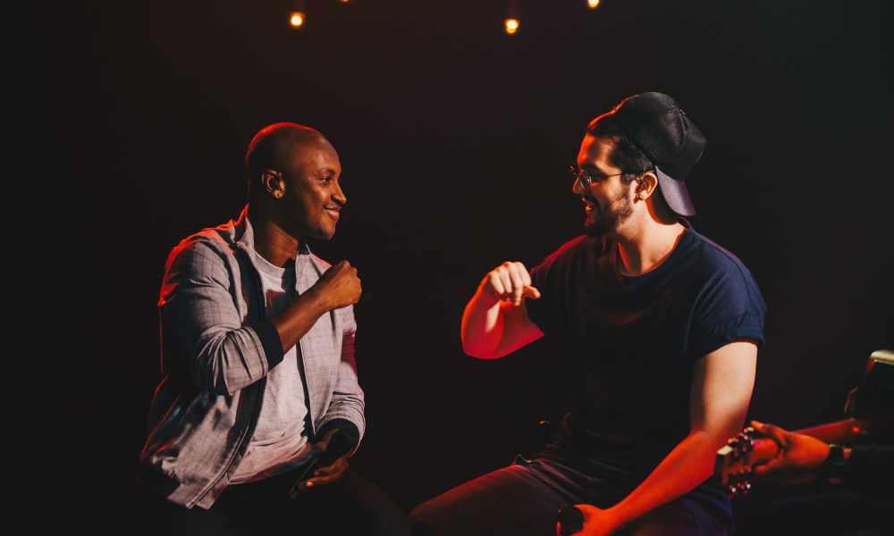 Thiaguinho e Luan Santana. Foto: Divulgação
