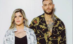 Paula Mattos e Lucas Lucco. Foto: Divulgação