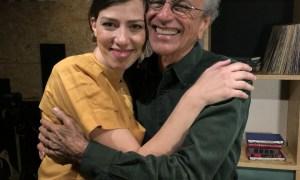 Caetano Veloso e Roberta Martinelli. Foto: Divulgação