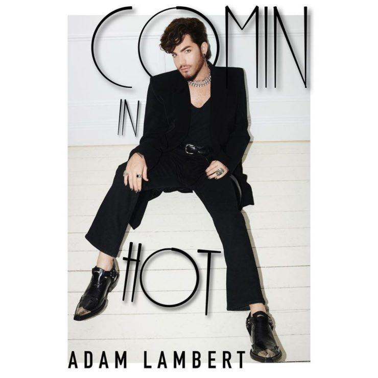 Adam Lambert. Foto: Reprodução/Instagram (@adamlambert)