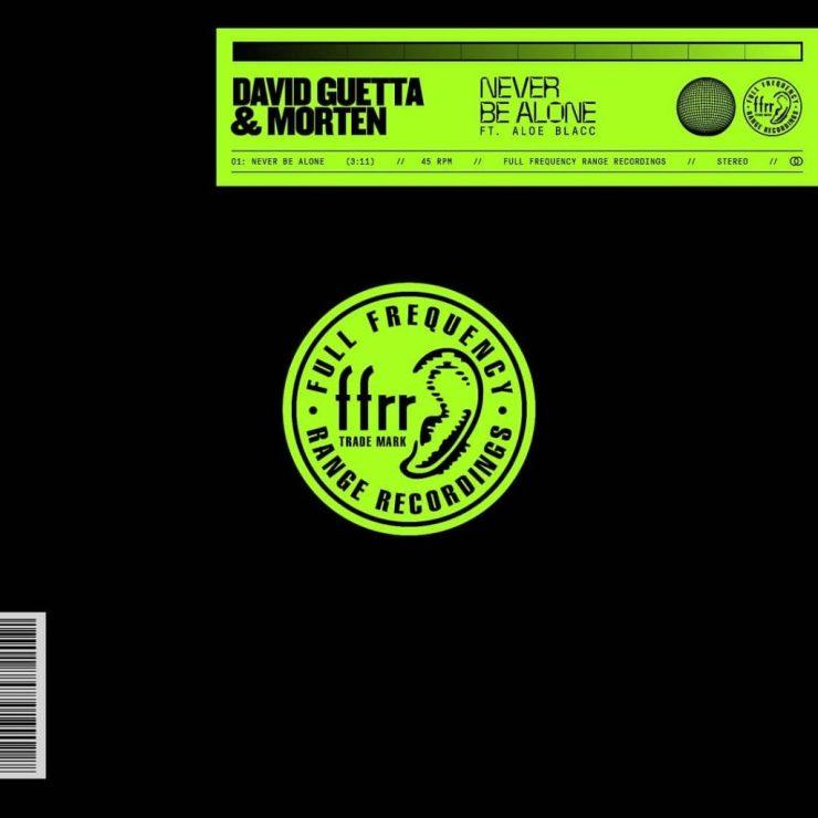 David Guetta & Morten feat. Aloe Blacc. Foto: Divulgação