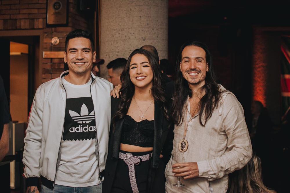 Filipe Soares,Julia Joia e Luã Yvys. Fotos: Felipe Braga