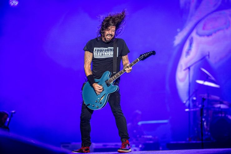 Foo Fighters. Foto: Divulgação/Renan Olivetti