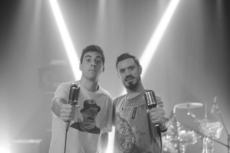 Fábio Brazza e Zeider Pires. Foto: Rafael Maques