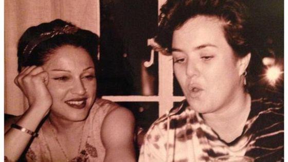 Madonna e O'Donnell. Foto: Reprodução/Instagram