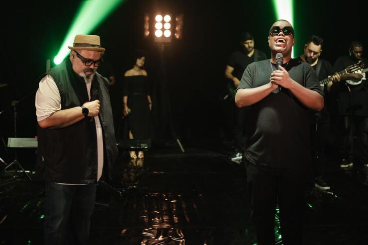 Darlan e Jorge Aragão. Foto: Divulgação