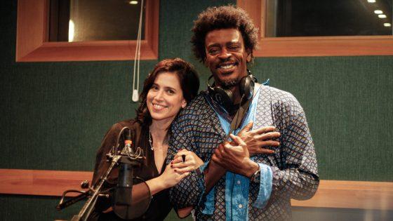 Mel Lisboa e Seu Jorge. Foto: Divulgação / Créditos: Bruno Poletti