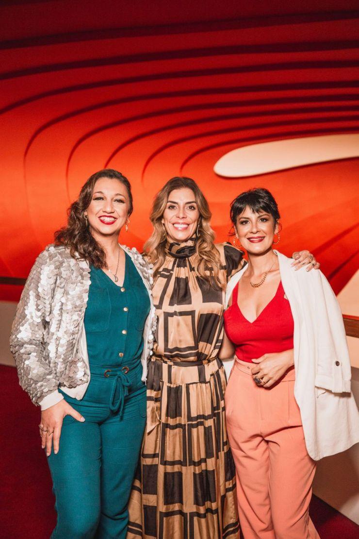 Claudia, Fátima e Monique - Foto: Mariana Smania