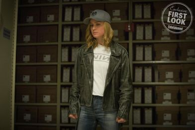 Carol Danvers de boné