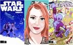 Heather Antos, editora da Marvel e Lucasfilm, fala sobre desafios nas HQs